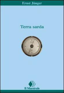 Terra sarda - Ernst Jünger - copertina