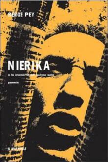 Nierika. O le memorie del quinto sole - Serge Pey - copertina