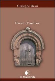 Paese d'ombre - Giuseppe Dessì - copertina