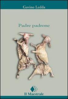 Padre padrone - Gavino Ledda - copertina