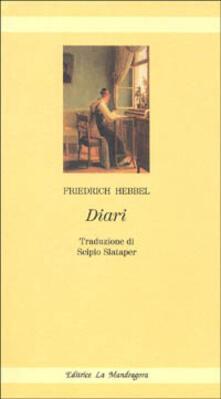 Diari - Friedrich Hebbel - copertina