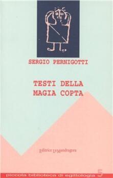 Testi della magia copta - Sergio Pernigotti - copertina