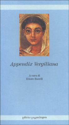 Appendix vergiliana - copertina