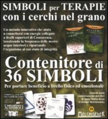 Simboli per terapie con i cerchi nel grano. 36 carte - Anna Maria Bona - copertina