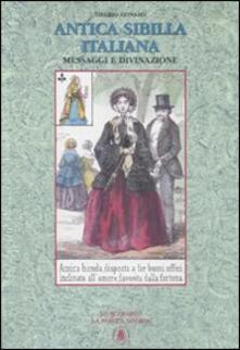 Camfeed.it Antica sibilla italiana. Messaggi e divinazione. Con 32 carte Image