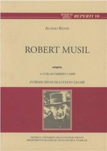Robert Musil - Aloisio Rendi - copertina