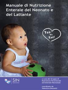 Manuale di nutrizione enterale del neonato e del lattante - copertina
