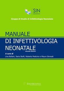 Manuale di infettivologia neonatale - copertina