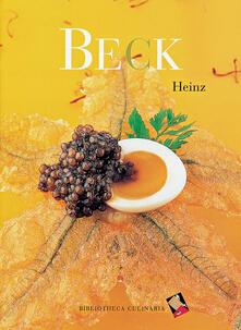 Winniearcher.com Heinz Beck. Ediz. inglese Image