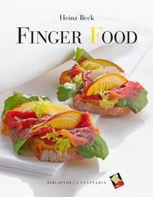 Finger food - Heinz Beck - copertina