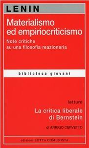 Materialismo ed empiriocritismo - Lenin - copertina