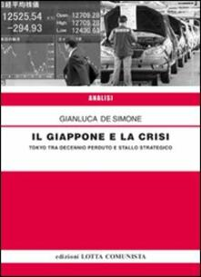 Il Giappone e la crisi - Gianluca De Simone - copertina