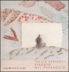 Viaggio nel paesaggio - Tullio Pericoli - copertina