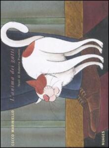 L' anima dei gatti - Cecco Mariniello,Roberto Piumini - copertina