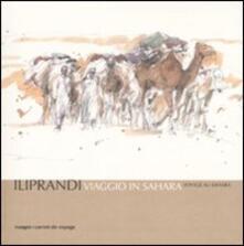 Viaggio in Sahara-Voyage au Sahara - Giancarlo Iliprandi - copertina