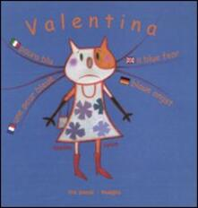 Paura blu. Valentina. Ediz. multilingue - Sophie Fatus - copertina