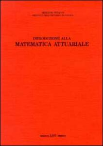 Introduzione alla matematica attuariale