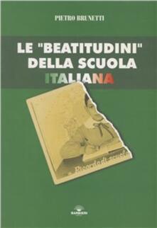 Osteriacasadimare.it Le beatitudini della scuola italiana Image