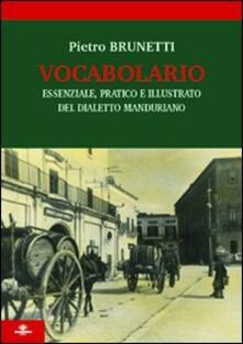 Listadelpopolo.it Vocabolario essenziale, pratico e illustrato del dialetto manduriano Image