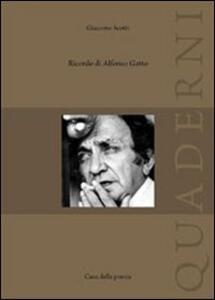 Ricordi di Alfonso Gatto