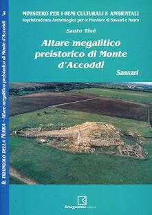 Altare megalitico di Monte d'Accoddi (Ss) - Santo Tiné - copertina