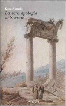 La vera Apologia di Socrate - Kostas Varnalis - copertina