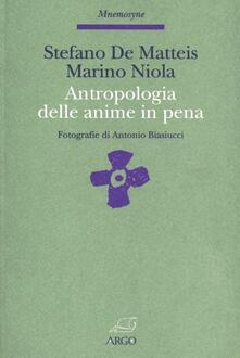 Antropologia delle anime in pena. Il resto della storia: un culto del purgatorio - Stefano De Matteis,Marino Niola - copertina