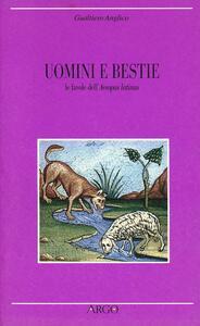 Uomini e bestie. Le favole dell'Aesopus latinus