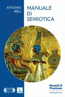 Manuale di semiotica - Antonio Meli - copertina