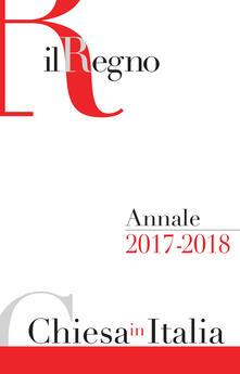 Annale Chiesa in Italia 2017-2018 - copertina