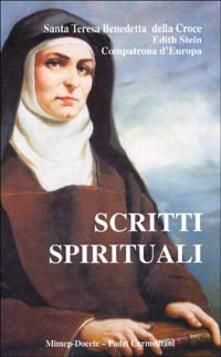 Scritti spirituali - Edith Stein - copertina