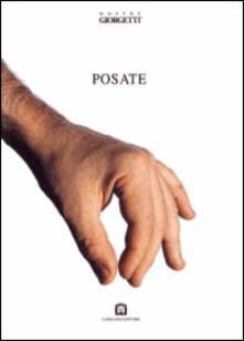 Posate. Ediz. italiana e inglese - copertina