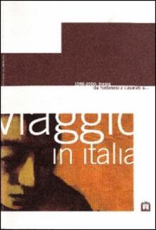 Viaggio in Italia 1998-2000. Torino: da Fontanesi a Casorati a... Catalogo della mostra (Mantova). Ediz. multilingue - copertina