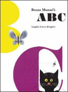 ABC. Semplice lezione d'inglese. Ediz. multilingue - Bruno Munari - copertina