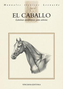 El Caballo. Láminas anatómicas para artistas - copertina