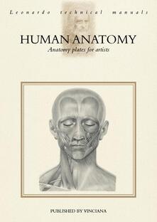 Human anatomy. Anatomy plates for artists - copertina