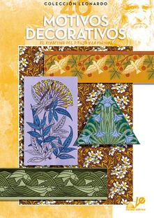 Motivos decorativos - copertina