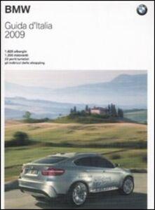 Libro Guida d'Italia BMW 2009