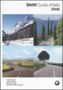 Guida d'Italia BMW 2008 - copertina