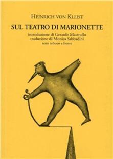 Antondemarirreguera.es Sul teatro di marionette. Testo tedesco a fronte Image
