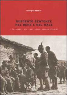 Cefalufilmfestival.it Duecento sentenze. La giustizia militare nella guerra 1940-1943 Image