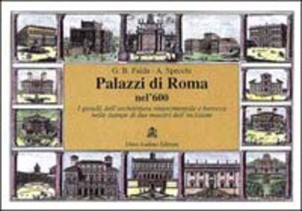 Vedute di Roma nel '600