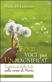 Venti voci per un Magnificat - Maria Di Lorenzo - copertina