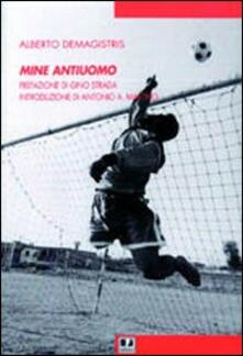 Mine antiuomo - Alberto Demagistris - copertina