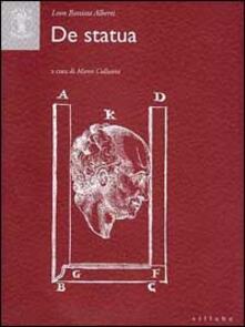 De statua - Leon Battista Alberti - copertina