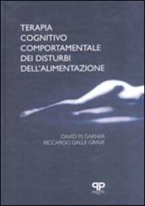 Terapia cognitivo comportamentale dei disturbi dell'alimentazione