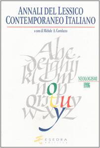 Annali del lessico contemporaneo italiano. Neologismi 1995