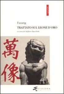Trattato sul leone d'oro - Fazang - copertina
