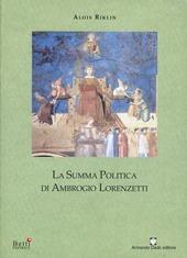 La summa politica di Ambrogio Lorenzetti