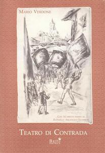 Libro Teatro di contrada Mario Verdone